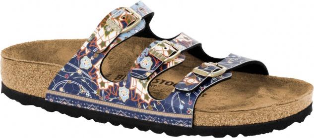 Birkenstock Pantolette BF Florida ancient mosaic Blau BF Pantolette 35 - 43 1009809 6b4971