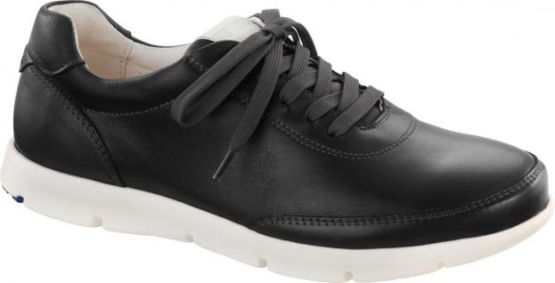 BIRKENSTOCK Shoes Halbschuh Manitoba Naturleder black 556083