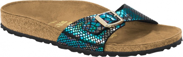 Birkenstock Madrid multicolor BF shiny snake schwarz multicolor Madrid Gr. 35 - 43 - 1003460 / 1003461 52345e