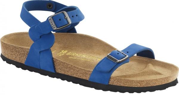 Birkenstock Sandale Pali blue Nubukleder Gr. 35 - 43 024733 - Vorschau