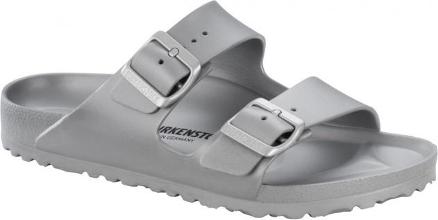 Birkenstock Pantolette Gr. Badeschuh Arizona metallic silver EVA Gr. Pantolette 36- 41 1003490 0079d2