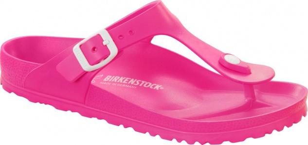 Birkenstock Pantolette Badeschuh Gizeh neon pink EVA Gr. 35 - 41 Neu 128341