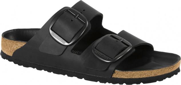 Birkenstock Pantolette Arizona big buckle schwarz 1012204