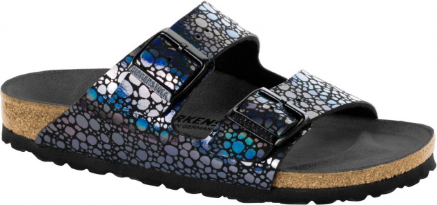 BIRKENSTOCK Pantolette Arizona metallic stones black Gr. 35-43 1008872