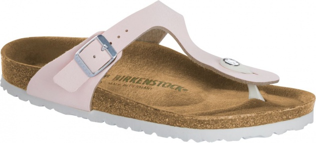 Birkenstock Zehensteg Sandale Gizeh brushed rose 1016630