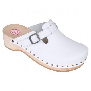 BERKEMANN Clog Soft Toeffler weiß 00412-100