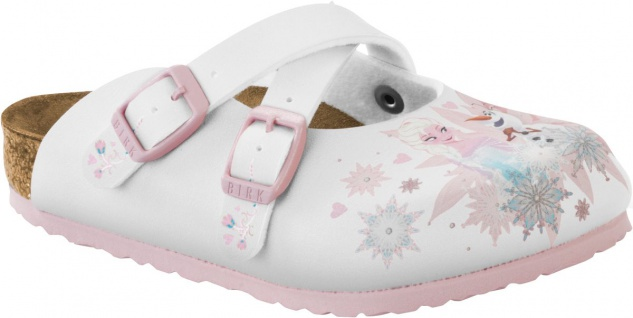 Birkenstock Dorian Kids Clog frozen elsa and olaf white 1000777