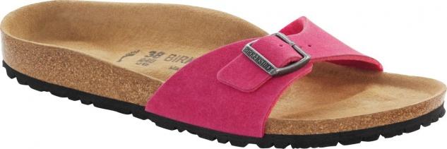 Birkenstock Pantolette Madrid 43 MF pink Gr. 35 - 43 Madrid - 438103 7e5a3b