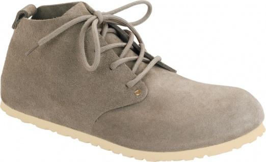 BIRKENSTOCK Boots Dundee taupe/beige Velours Gr.35 - 46 692811 + 692813