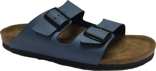 Birkenstock Pantolette Arizona BF crown blue Gr. 35 - 46 - 452423