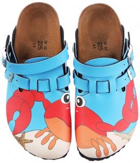 BIRKIS Clog Kay crab blue Fersenriemen Gr. 26 - 42 936483