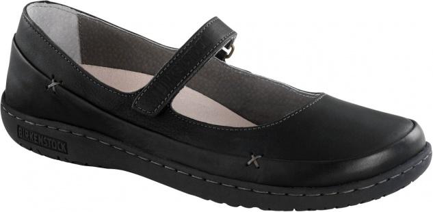 BIRKENSTOCK Shoes Balerina Iona black Naturleder Gr. 36 - 42 433061 + 433063