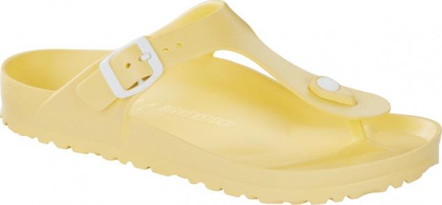 Birkenstock Pantolette Badeschuh Gizeh soft yellow EVA Gr. 36 - 41 1009203