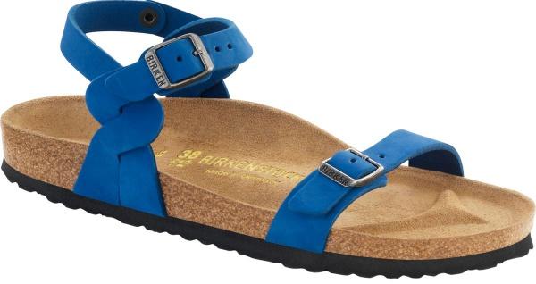 Birkenstock Pali blue Nubukleder 024733