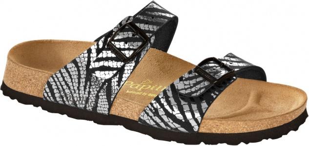 Papillio Pantolette Sydney Gr. 36 - 394553 42 zebra black silver 394553 - 9e5c40