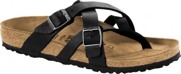 Birkenstock Temara Zehensteg Sandale camberra old black 1008549