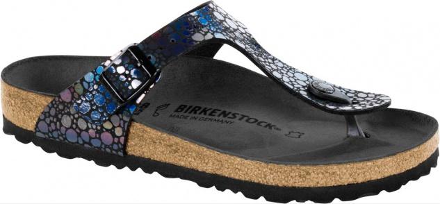 Birkenstock Gizeh Zehensteg Sandale Metallic stones black BF Gr. 35 - 43 - 1008865