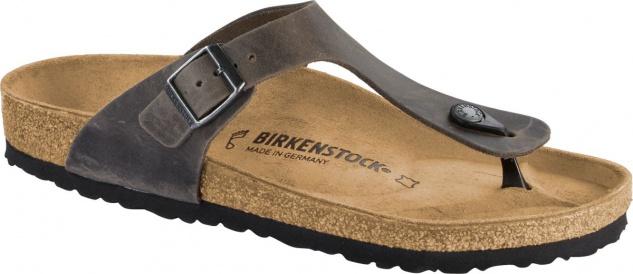 BIRKENSTOCK GIZEH SFB NL Spectral Copper Schuhe Sandalen