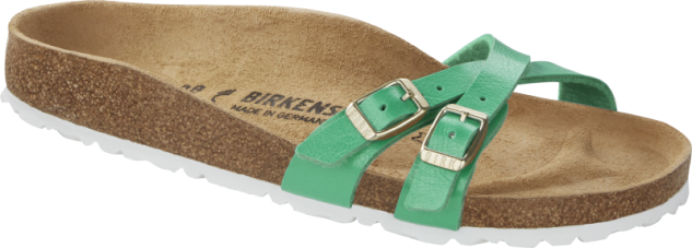 Birkenstock Sandale Pantolette Almere graceful emerald 1016204