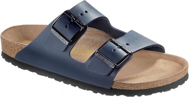 BIRKENSTOCK Pantolette Sandale Arizona blau Leder Gr. 35 - 50 051151 + 051153