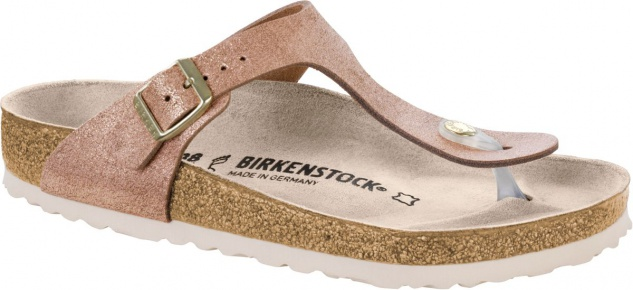 Birkenstock Zehensteg Sandale washed metallic rose gold Gr. 35 - 43 - 1008793