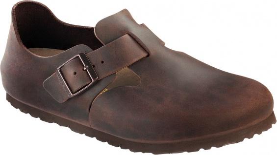BIRKENSTOCK Shoes Halbschuh London habana Leder Gr. 35 - 48 166531 + 166533