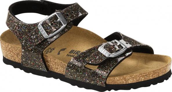 Birkenstock Sandale Rio Kids cosmic sparkle black multi