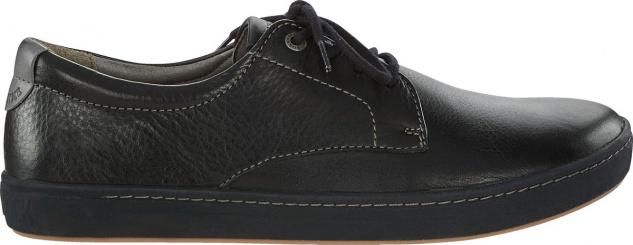 Birkenstock Shoes Navarino schwarz Nubukleder geölt 1006957