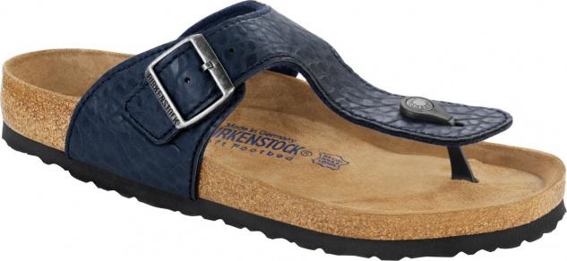 Birkenstock Zehensteg Sandale Ramses BF buffalo blue Gr. 35 - 46 046431