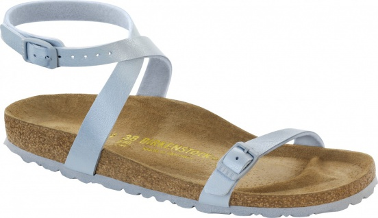 Birkenstock Sandale Daloa BF graceful babyblue Gr. 35 - 43 026303 - Vorschau
