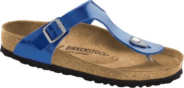Birkenstock Zehensteg Sandale Gizeh BF electric metallic ocean Gr. 35 - 43  1012981 427581c867c