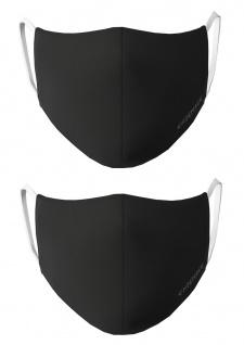 CHIEMSEE Nasen - & Mundschutz- Maske 2er Pack schwarz