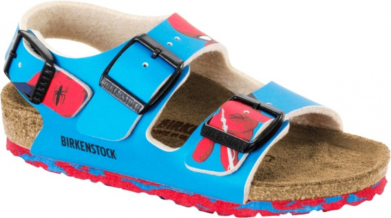 Birkenstock Sandale Milano marvel spiderman blue 1006827