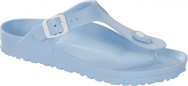 Birkenstock Pantolette Badeschuh Gizeh soft blue EVA Gr. 36 - 41 1009206