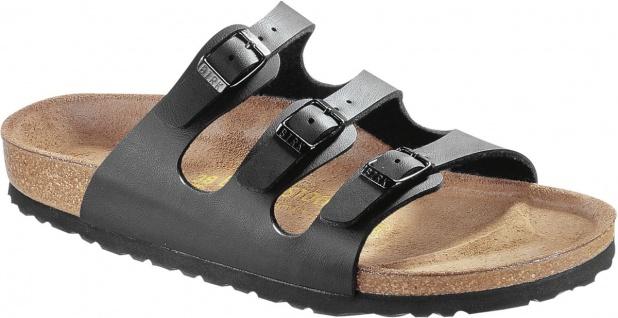 Birkenstock Pantolette Sandale Florida schwarz BF Gr. 35 - 46 054793 + 054791