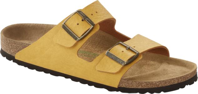 Birkenstock Pantolette Arizona saddle matt ochre 1015524