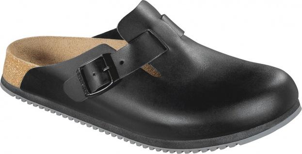 BIRKENSTOCK Professional Boston SL Clog schwarz Leder Gr. 35-48 060194 + 060196