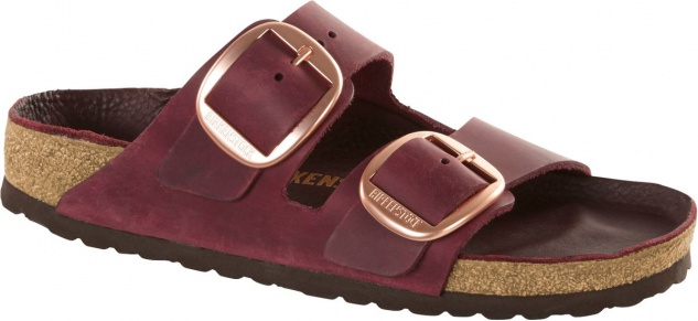 Birkenstock Pantolette Arizona big buckle zinfandel oiled Leather Gr. 35 - 43 1011077