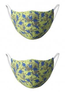 CHIEMSEE Nasen - & Mundschutz - Maske 2er Pack KIDS Dino