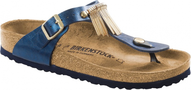 Birkenstock Zehensteg Sandale Gizeh GRACEFUL SEA 1006387