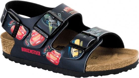 Birkenstock Sandale Milano kids cars 3 darkblue 1008673 / 1008674