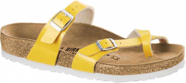 Birkenstock Zehensteg Sandale Mayari graceful amber yellow Gr. 35 - 43 - 1008836