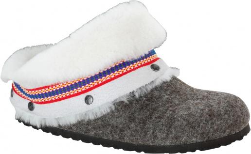 BIRKENSTOCK Clog Kaprun Wolle inuit cacao 1006636