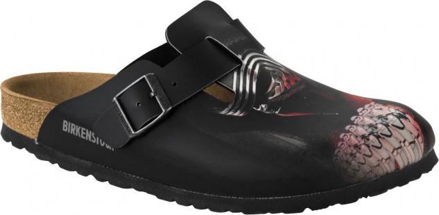Birkenstock Clog Boston kylo ren black red BF Gr. 35 - 46 1001656
