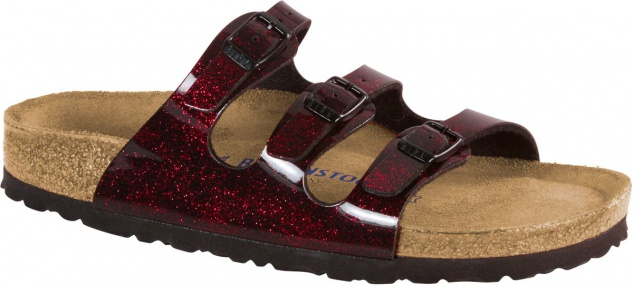 Birkenstock Florida iride strong red BF 35 - 43 1011179