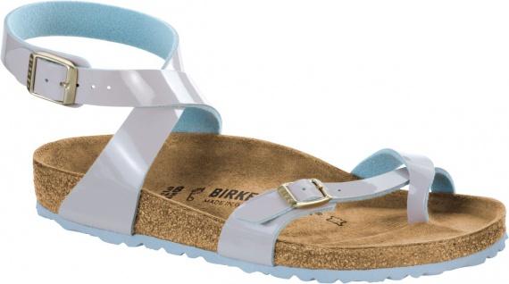Birkenstock Zehensteg Sandale Yara two tone lightgray Gr. 35 - 43 1008509