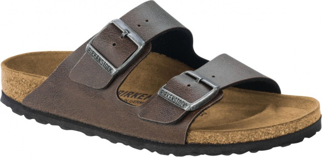Birkenstock Pantolette Arizona BF pull up brown Gr. 35 - 46 - 1003186