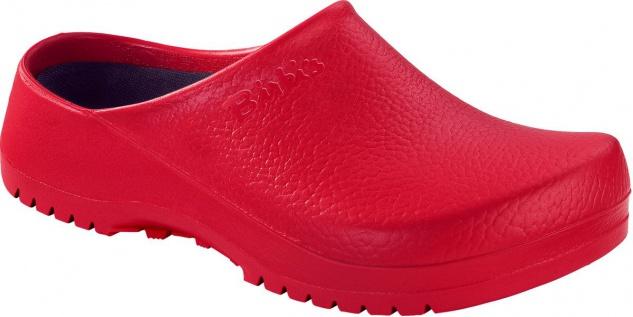 Birkenstock Professional Clog Super Birki red 068031