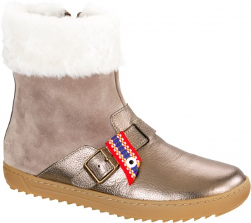 Birkenstock Stiefel Stirling taupe NL Fell 1007172
