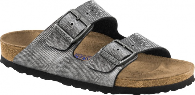 BIRKENSTOCK Arizona BF washed out jeans grey 1005352